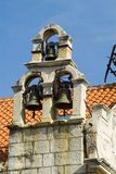 Stone belfry Royalty Free Stock Images