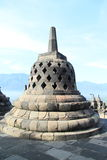 Stone bell on Borobudur Stock Photography
