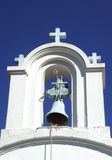 Stone bell tower of a Greek temple Royalty Free Stock Photo