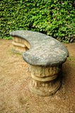 Stone bench Stock Photos