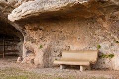 Stone Bench Stock Image