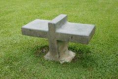 Stone bench Royalty Free Stock Image