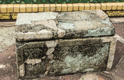 The stone benches Royalty Free Stock Image