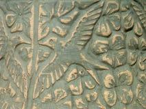 Stone Bird. Birdbath detail Stock Photos