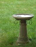 Stone Birdbath. Photo of a stone birdbath Royalty Free Stock Image