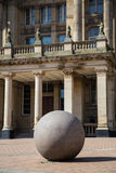 Stone in Birmingham City hall Stock Photo