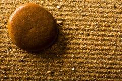 stone, blisko piasku. Zdjęcie Royalty Free