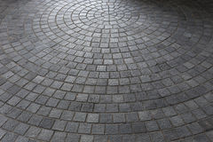 Stone block floor of pavement Royalty Free Stock Image