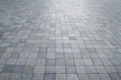 Stone block. The pattern of stone block paving Stock Photography