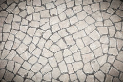 Stone block pavement Royalty Free Stock Photo