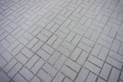 Stone block pavement Stock Photography