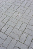Stone block pavement Royalty Free Stock Photos