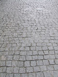 Stone block pavement Stock Images