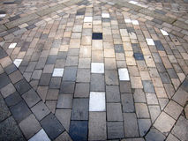 Stone block paving Royalty Free Stock Images