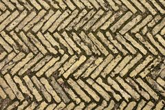 Stone block paving Royalty Free Stock Image