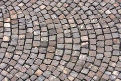 Stone block paving Stock Image