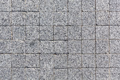 Stone block paving texture Stock Photography