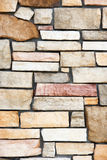 A stone block wall Stock Photo