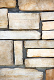 A stone block wall Royalty Free Stock Images