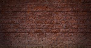 Stone Block Wall  for backgrounds.  Royalty Free Stock Photos