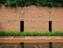 Stone block wall Stock Image