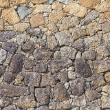 Stone block wall Royalty Free Stock Images