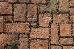 Stone block wall texture Stock Image