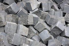 Stone blocks Stock Image