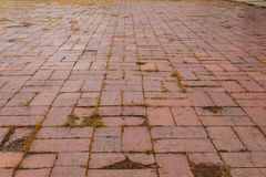 Stone blocks floor Royalty Free Stock Images