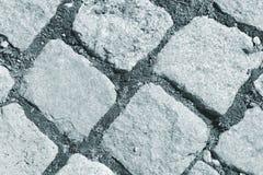 Stone blocks pavement Stock Photography