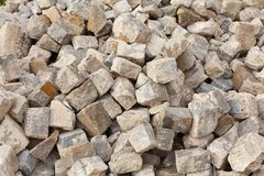Stone blocks Royalty Free Stock Images