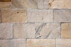 Stone blocks wall Stock Images