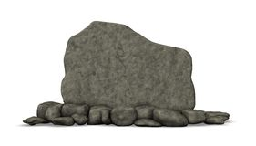 Stone board Royalty Free Stock Image