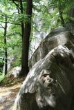 Stone boulder Stock Photos