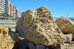 A Stone Boulder Stock Photography