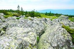 Stone boulders Royalty Free Stock Photo