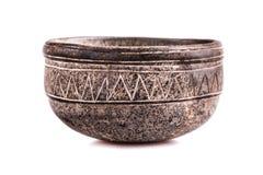 Stone bowl Royalty Free Stock Photo