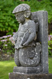 Stone boy - Portmerion Village in Wales Stock Images