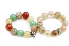 Stone bracelet Stock Images