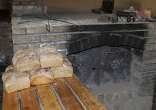 Stone bread oven. Royalty Free Stock Image