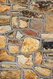 Stone brick background Royalty Free Stock Images