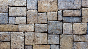 Stone brick background texture Royalty Free Stock Photos