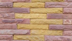 Stone brick fence Royalty Free Stock Photography
