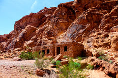 Rangers quarters at Valley of Fire, Nevada. Royalty Free Stock Images
