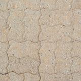 Stone brick path fragment Stock Image