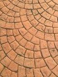 Stone brick pavement Stock Photography