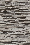 Stone brick texture wall. With shadow Royalty Free Stock Photos