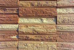 Stone brick tile Stock Images