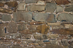 Stone Brick Wall 01. Texture Series. Old Stone Brick Wall Background royalty free stock photography