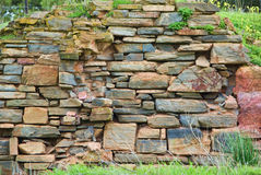 Stone brick wall Royalty Free Stock Image